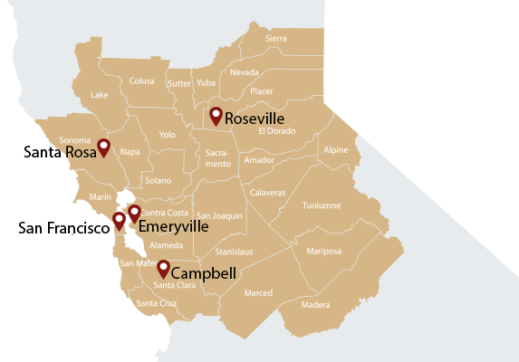 Certified Legal Staff Branch Locations